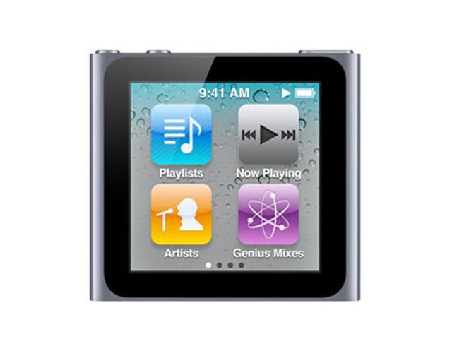 iPod nano 8GB シルバー 第6世代 MC525J/A