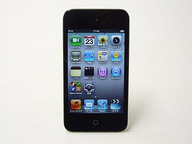 中古iPod販売 iPod touch 32GB ブラック 第4世代 MC544J/A Apple
