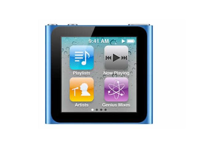 iPod nano 8GB ブルー 第6世代 MC689J/A
