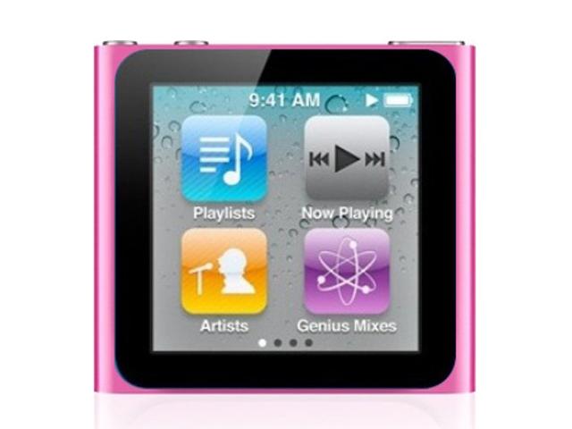iPod nano 8GB ピンク 第6世代 MC692J/A