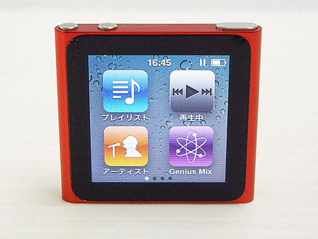 iPod nano 8GB レッド 第6世代 MC693J/A