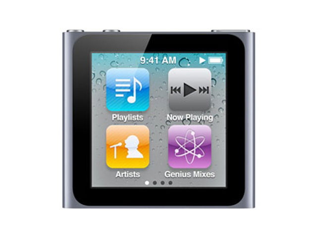 iPod nano 16GB グラファイト 第6世代 MC694J/A