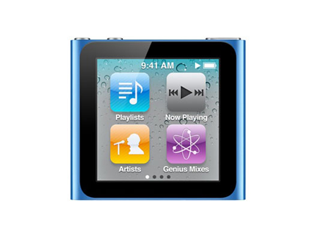 中古 Apple iPod nano 16GB ブルー 第6世代 MC695J/A