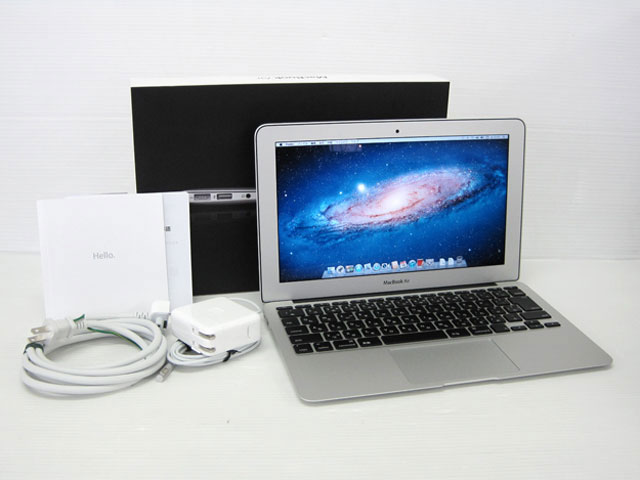 中古MacBook販売 MacBook Air Core i5 1.6GHz 11.6インチ Apple
