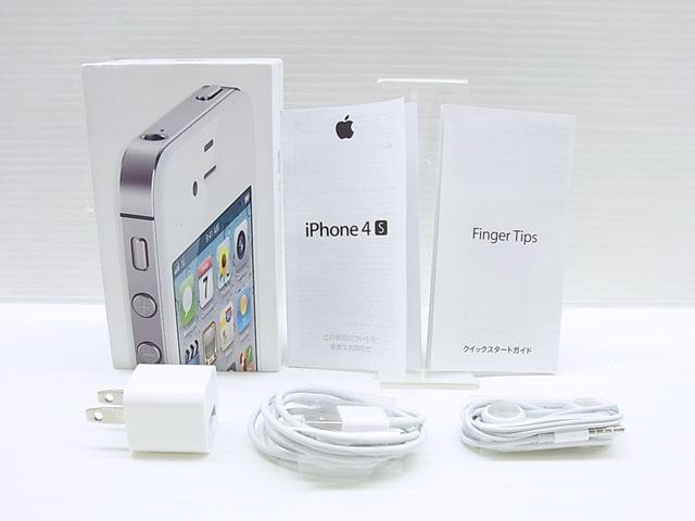 iPhone 4S 16GB White MD240J/A au版