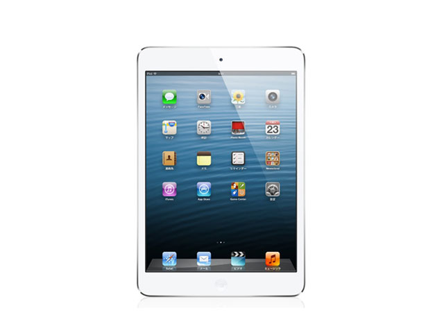 iPad mini Wi-Fi + Cellular 16GB White & silver MD543J/A au版