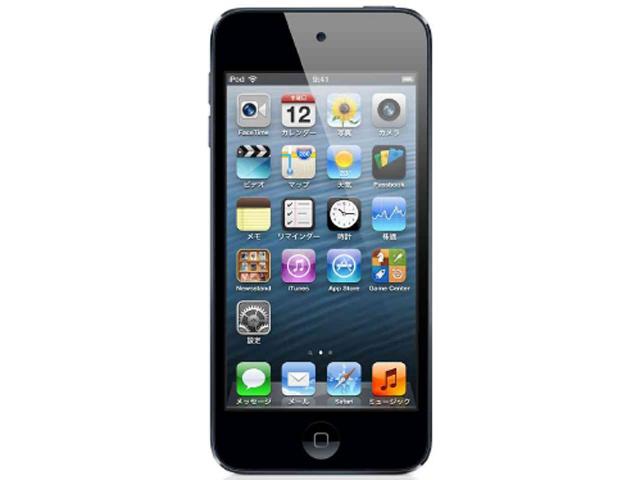 iPod touch 16GB ブラック&シルバー 第5世代 ME643J/A