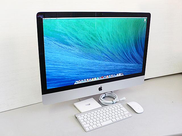 iMac intel Core i5 2.7GHz 21.5インチ Silver (2013/09)