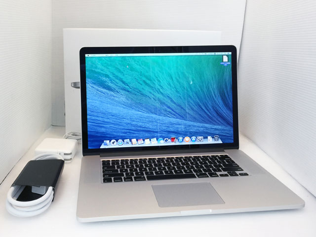 MacBook Pro Core i7 2.2GHz 15.4インチ(RetinaDisplay)