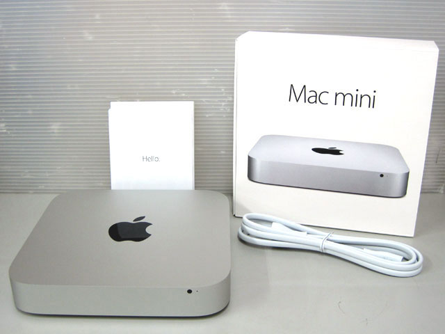 Mac mini Core i7 3.0GHz (2コア) silver