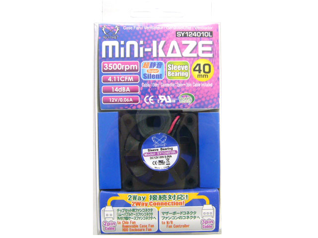 MINI-Kaze Scythe 各種冷却システム