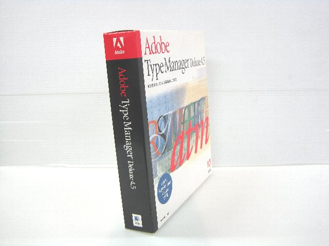 Type Manager Deluxe 4.5 Macintosh版