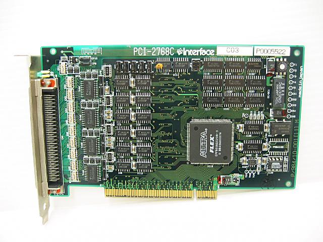制御ボード販売 PCI-2768C Interface