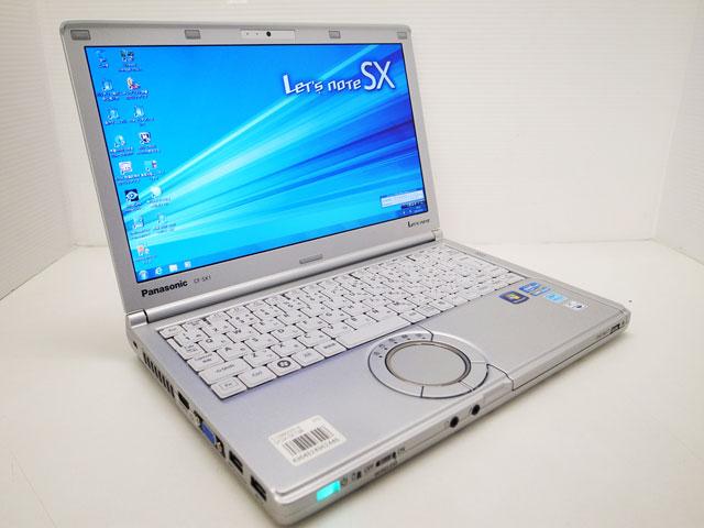 中古ノートパソコン販売 Let's note CF-SX1GEADR Panasonic