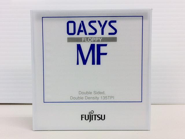 OASYS FLOPPY MF 3.5インチ 2DD フロッピーディスク(3枚組)