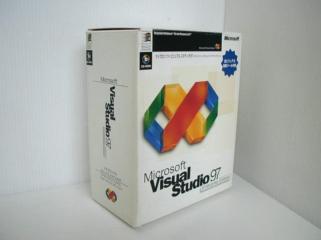ソフトウェア販売 Visual Studio 97 Enterprise Edition Microsoft