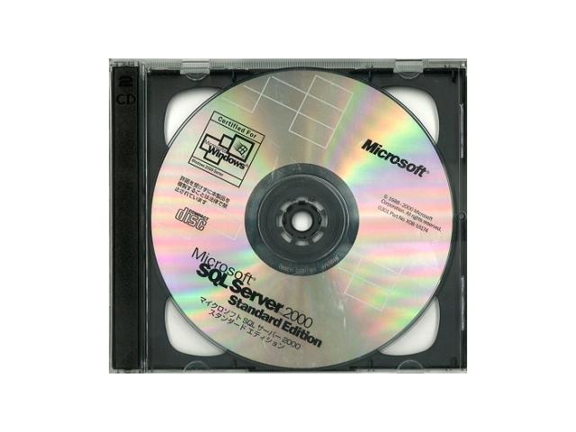 ソフトウェア販売 SQL Server 2000 Standard Edition プロセッサライセンス Microsoft