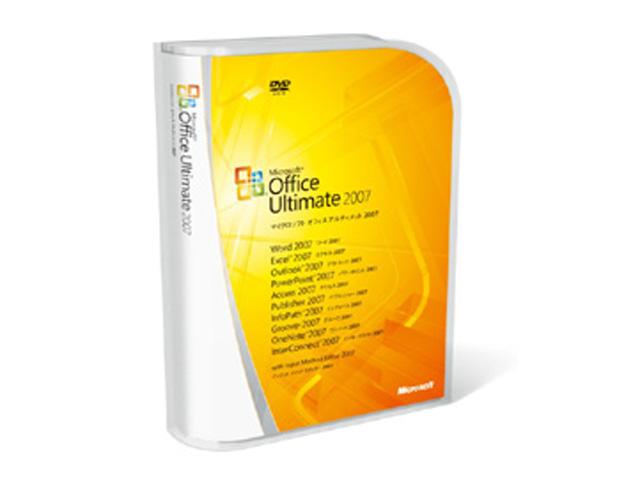 ソフトウェア販売 Office Ultimate 2007 Microsoft