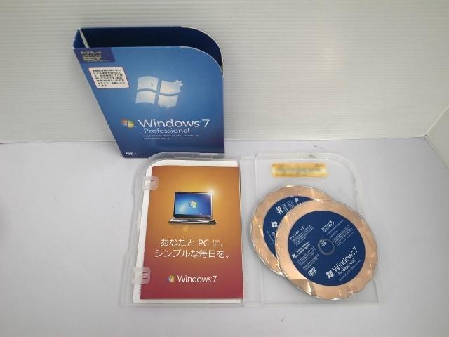 ソフトウェア販売 Windows 7 Professional アップグレード Microsoft