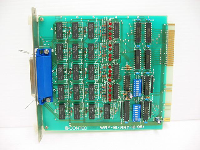 制御ボード販売 WRY/RRY-16(98) CONTEC