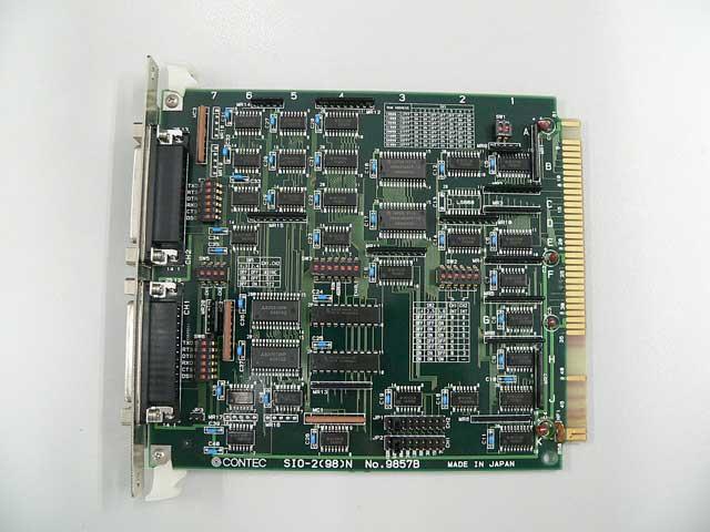 制御ボード販売 SIO-2(98)N CONTEC