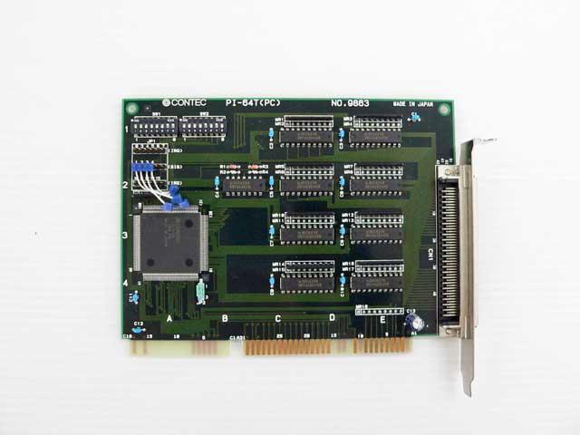制御ボード販売 PI-64T(PC) CONTEC