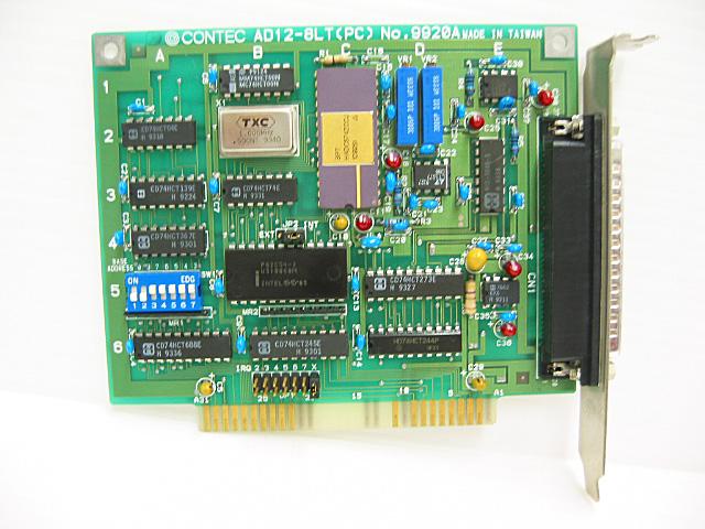 制御ボード販売 AD12-8LT(PC) CONTEC