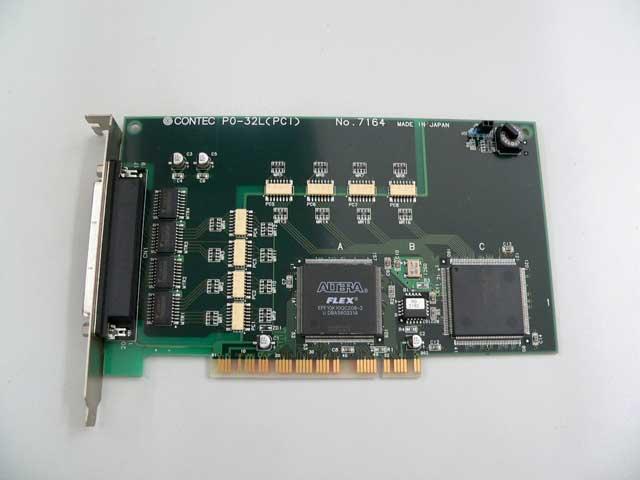 制御ボード販売 PO-32L(PCI) CONTEC