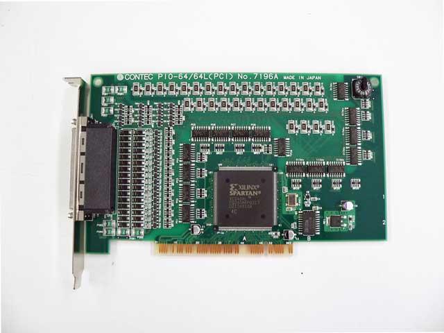 制御ボード販売 PIO-64/64L(PCI) CONTEC
