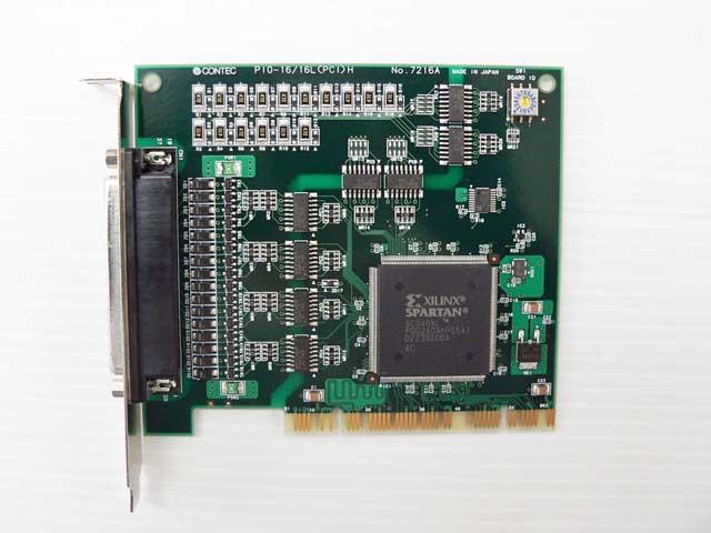 制御ボード販売 PIO-16/16L(PCI)H CONTEC