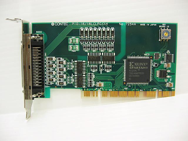 制御ボード販売 PIO-16/16L(LPCI)H CONTEC