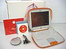 中古Mac:Shell型 iBook タンジェリン 12.1インチ