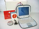 中古Mac:Shell型 iBook グラファイト 12.1インチ