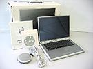 中古Mac:PowerBook G4 Titanium 400MHz 15.2インチ