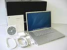 中古Mac:PowerBook G4 Aluminium 1.5GHz 17インチ