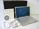 中古Mac:PowerBook G4 Aluminium 1.33GHz 17インチ