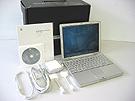 中古Mac:PowerBook G4 Aluminium 1GHz 12.1インチ