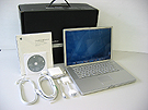 中古Mac:PowerBook G4 Aluminium 1GHz 15.2インチ