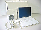 中古Mac:iBook G4 1GHz 14.1インチ