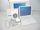 中古Mac:iBook G3 800MHz 12.1インチ
