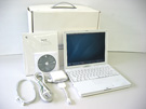 中古Mac:iBook G4 1GHz 12.1インチ