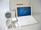 中古Mac:MacBook 2.4GHz 白 13.3インチ