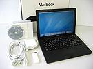 中古Mac:MacBook 2.4GHz 黒 13.3インチ