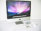 中古Mac:iMac intel 2.8GHz 24インチ Silver (2008/04)