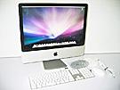中古Mac:iMac intel 2.4GHz 20インチ Silver (2008/04)