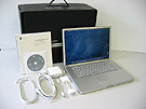 中古Mac:PowerBook G4 Aluminium 1.67GHz 15.2インチ
