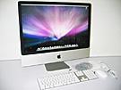 中古Mac:iMac intel 3.06GHz 24インチ Silver (2009/03)