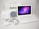 中古Mac:MacBook 2.4GHz 白ユニボディ 13.3インチ