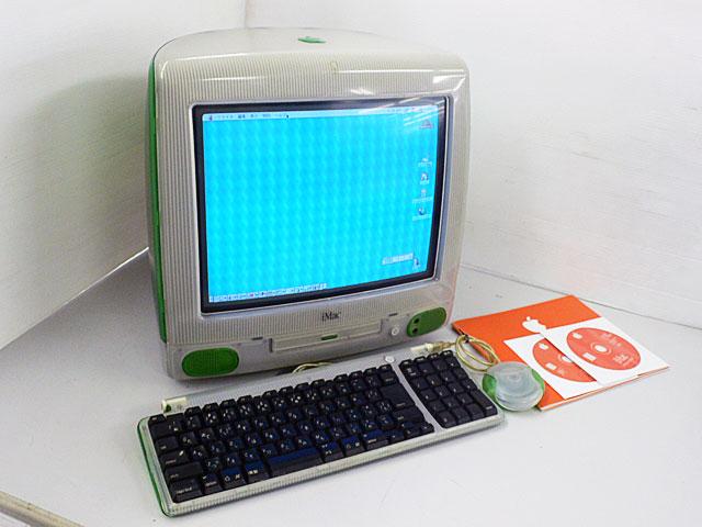 中古Mac:iMac G3 ライム (トレー型)