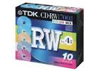 TDK CD-RW80X10CCS